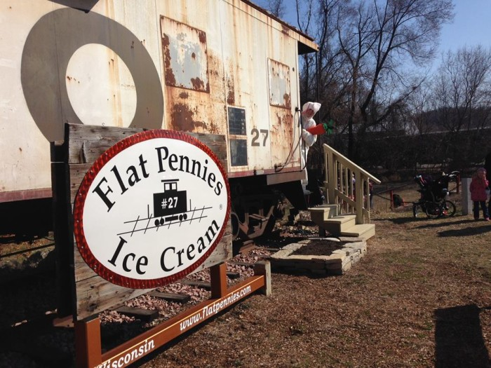 5. Flat Pennies Ice Cream (Bay City)