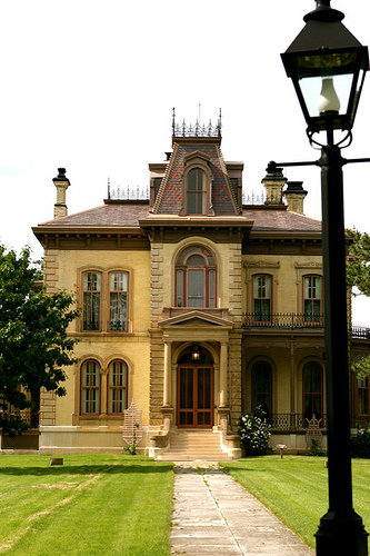 6. David Davis Mansion (Bloomington)