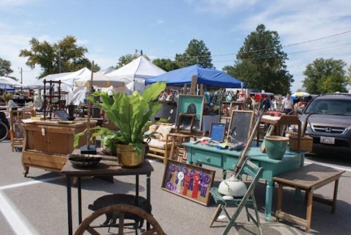 5) Springfield Antique Show and Flea Market (Clark County Fairgrounds)