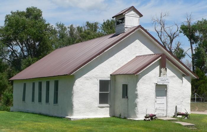 Pilgrim Holiness Church (Hay Bale Church), Arthur