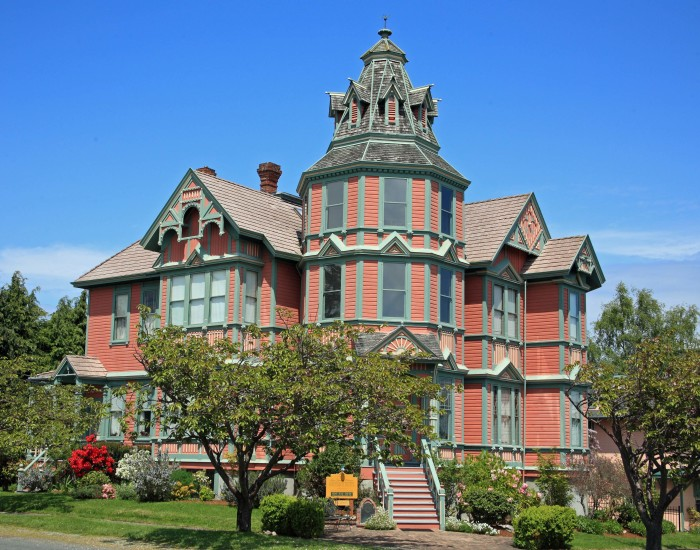 11. A charming Victorian house spotted in Port Townsend.