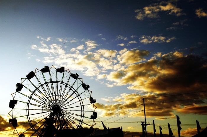 """9. """"Doing the Puyallup"""" every year, or any fair in your area!"""