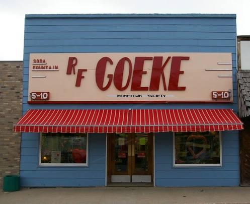 R.F. Goeke Variety Store and Soda Fountain, Atkinson