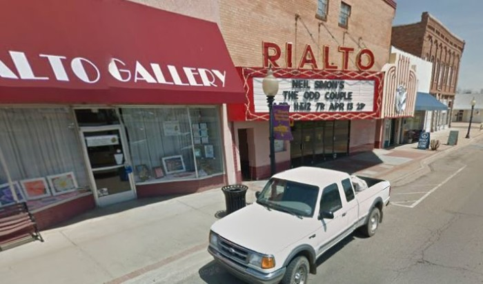 1. The Rialto in Morrilton