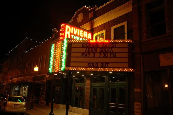 3) Riviera Theatre, Three Rivers