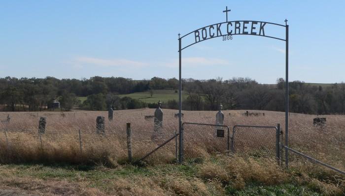 Rock Creek Cemetery, Southwest of Beemer