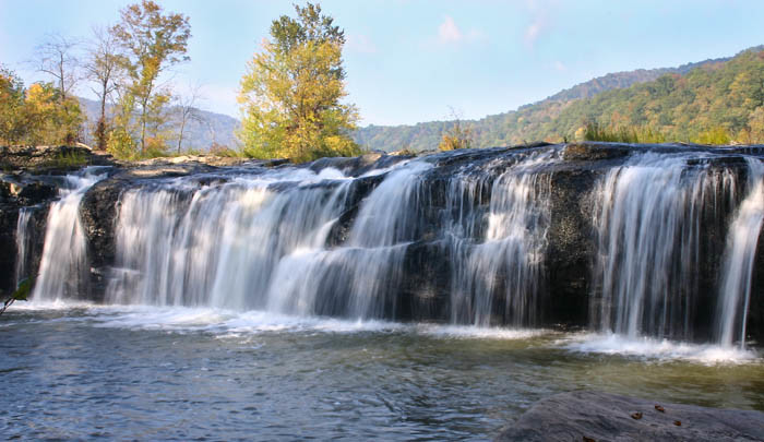 12. Sandstone Falls on the New River