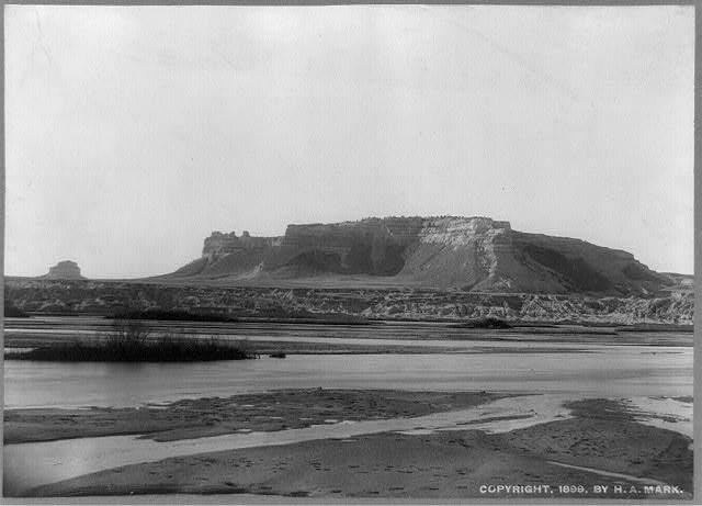 Scotts Bluff, Circa 1899