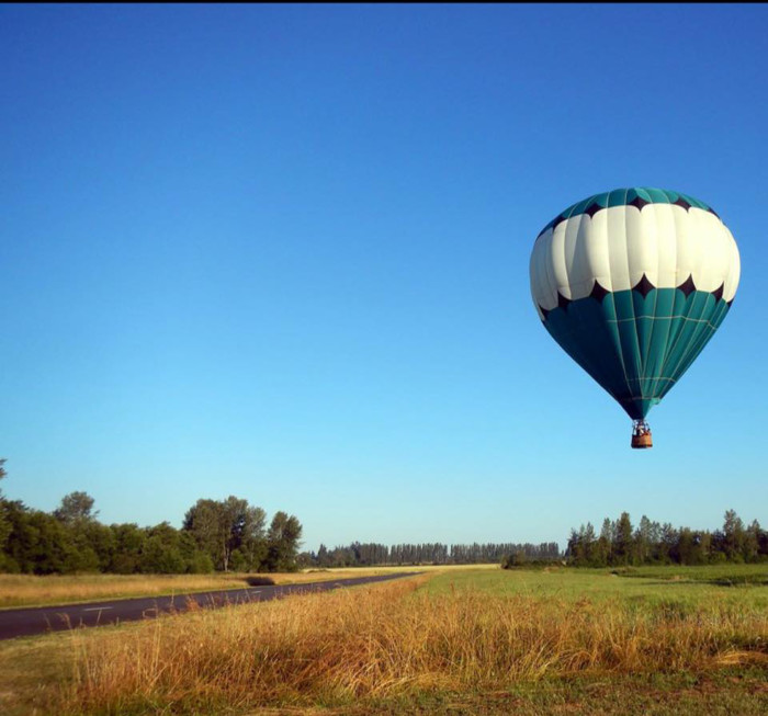 6. Sequim Hot Air Balloon Rides