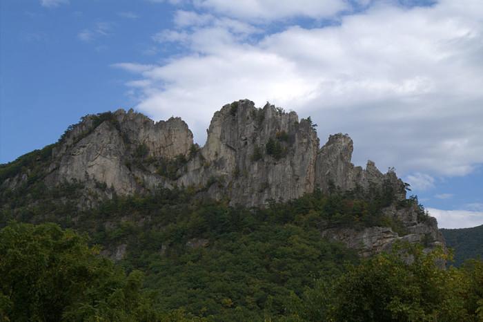 9. Seneca Rocks