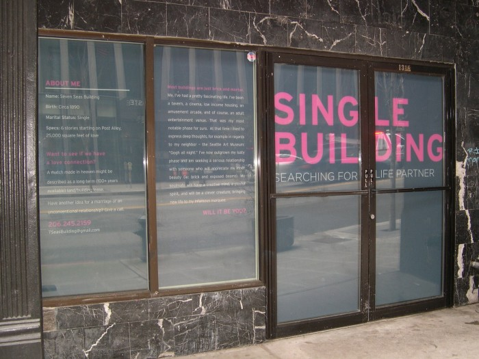 4. Single Building, Seattle (2011)