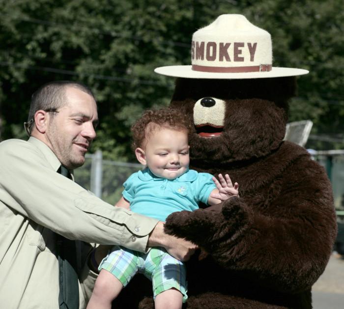 1. Smokey The Bear