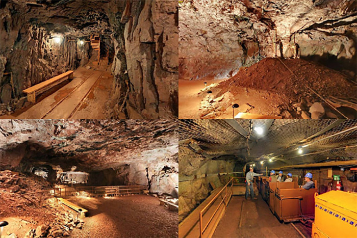 6. Although not really a cave, but a mine,  Soudan Underground Mine lets you explore a massive underground space that will certainly wow you.