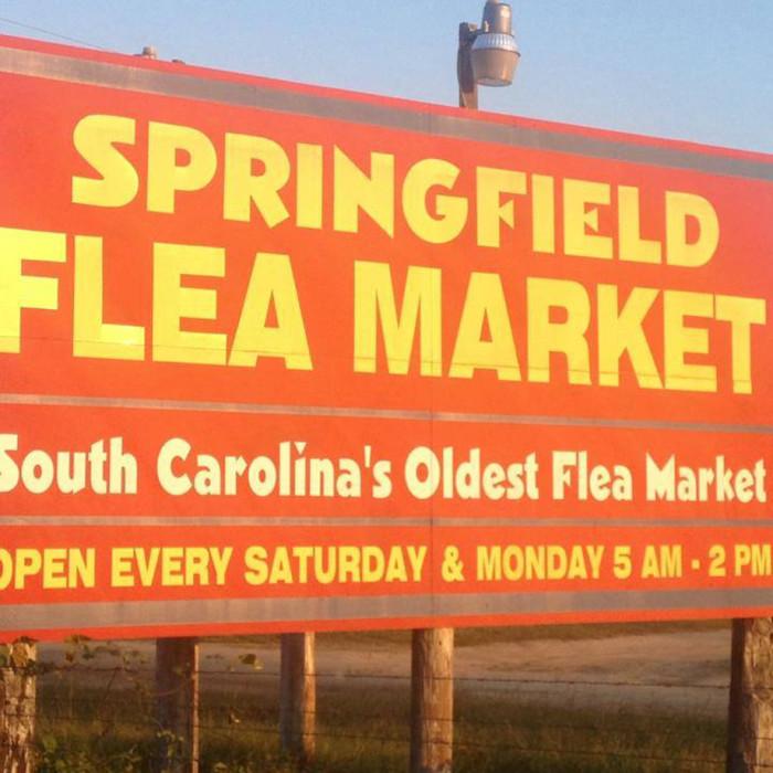 8. Springfield Flea Market, Springfield, SC