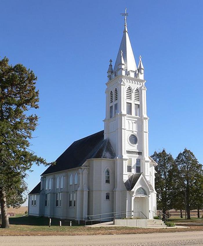 St. John's German Evangelical Lutheran Church, Near Lyons