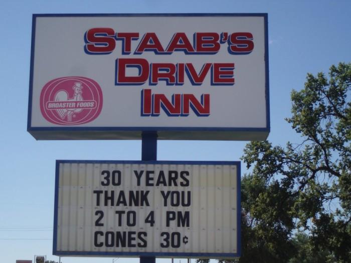 Staab's Drive Inn, Crawford