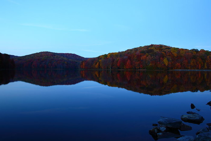 10. Summit Lake in Greenbrier County