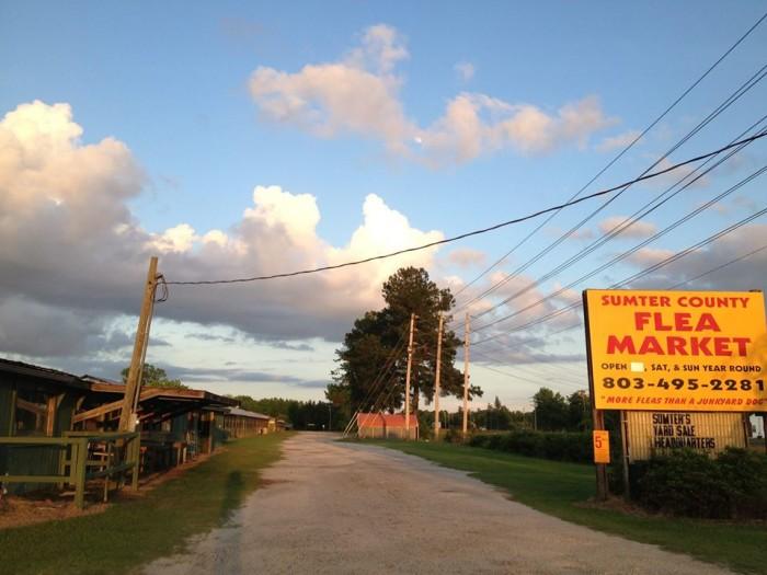12. Sumter County Flea Market, Sumter, SC
