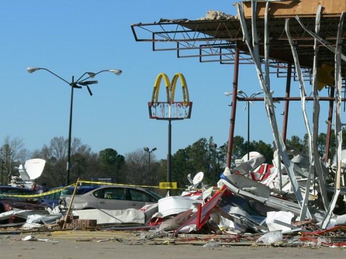 4. Tornado Destruction
