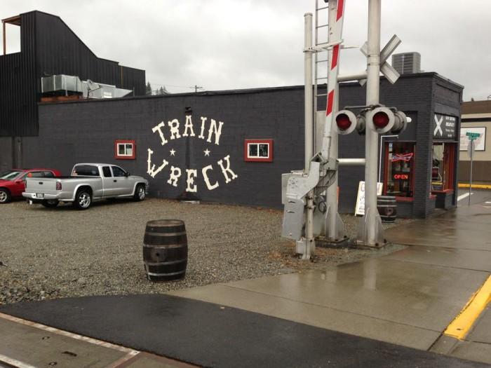 12. Haven't tried Train Wreck in Burlington yet?