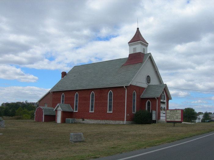 14. Uvilla United Methodist Church