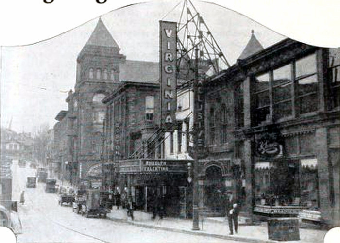 10. The Virginia Theatre in Fairmont