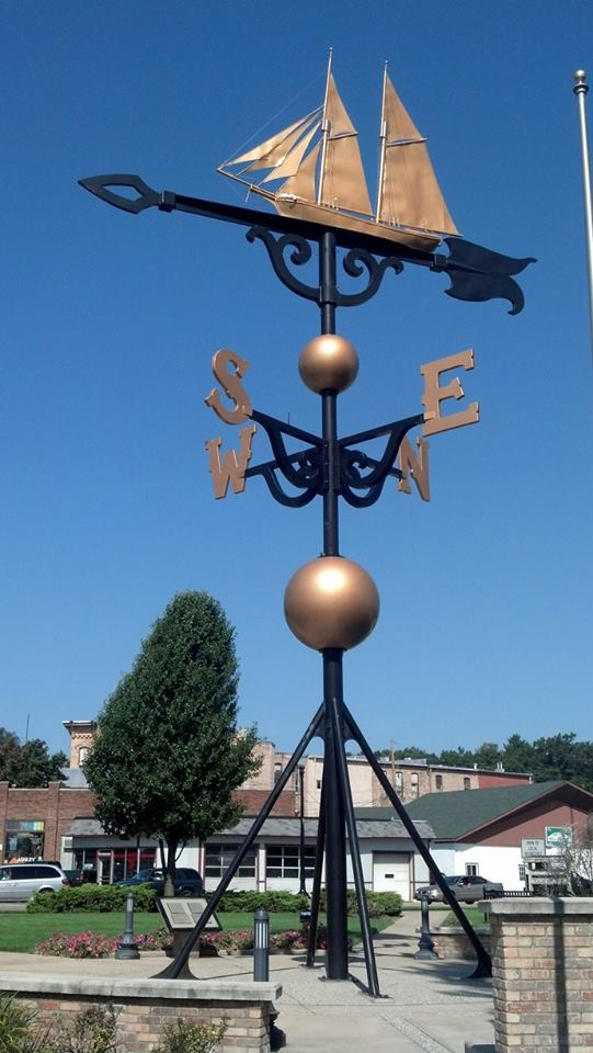 5) World's largest weathervane