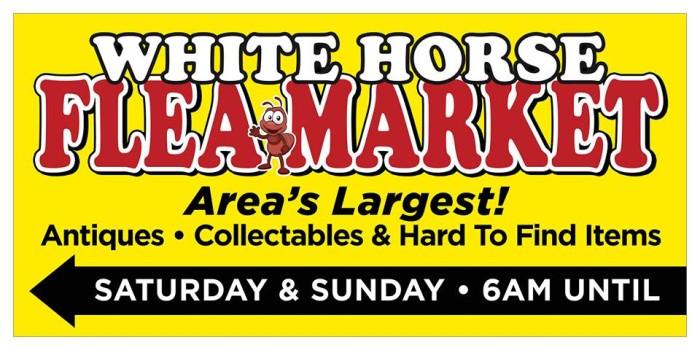 10. White Horse Flea Market, Greenville, SC