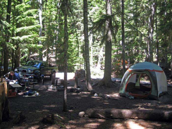 12. White River Campground
