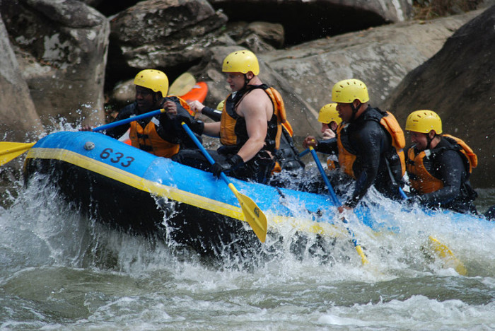 11. Gone whitewater rafting