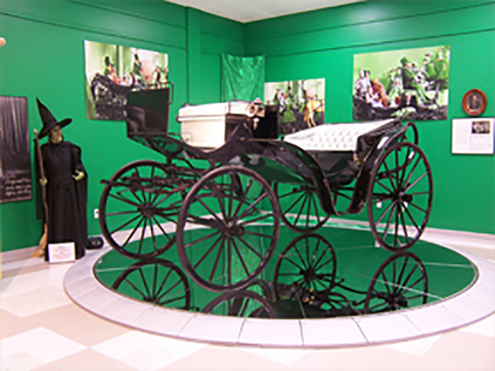 3. Follow the yellow-brick road to Grand Rapids to explore Garland's childhood home and see some amazing exhibits from the Wizard of Oz.