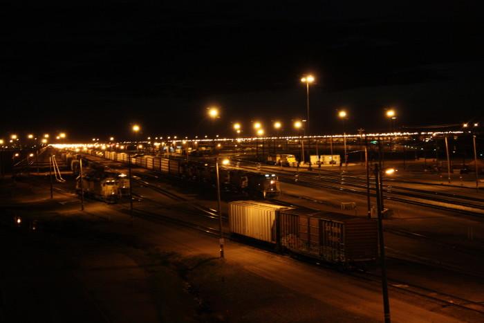 World's Largest Rail Yard, North Platte