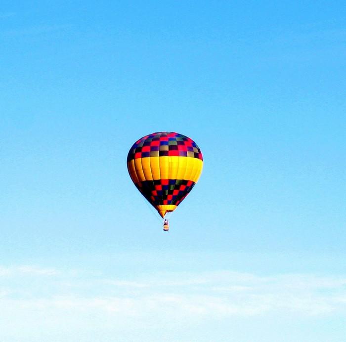 1. Ride in a hot air balloon