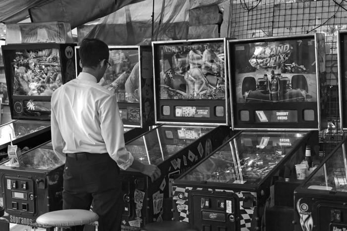 4. Pinball machine