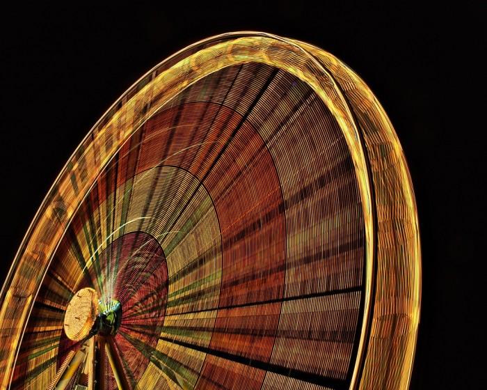 8. Ferris wheel