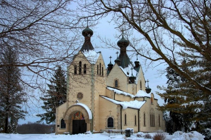 9. St. Sava Serbian Orthodox Church (Libertyville)