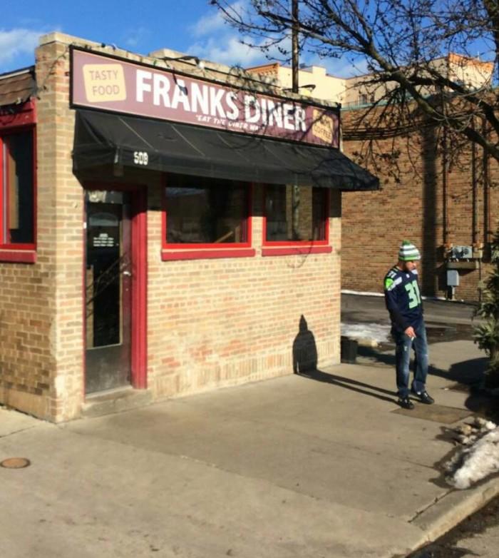 1. Frank's Diner (Kenosha)