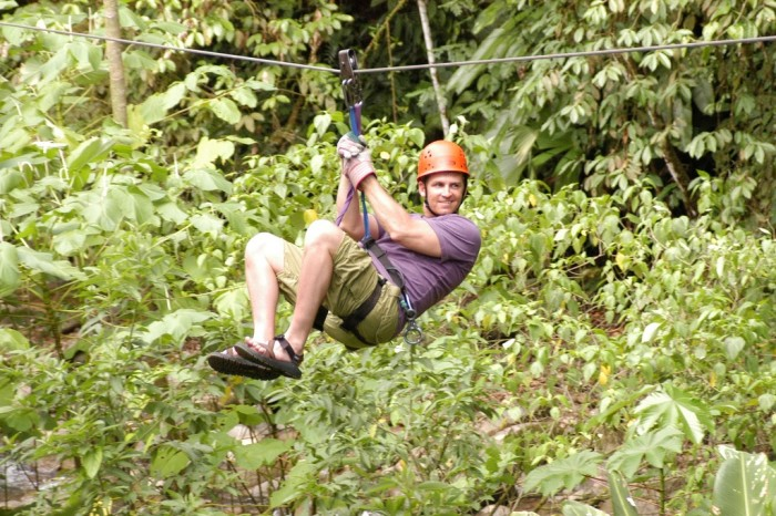3. Go on a zip line