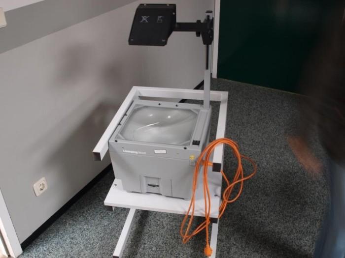 9. Overhead projectors