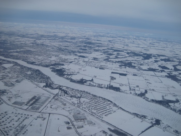 2. Snow Covered Lawrence, WI