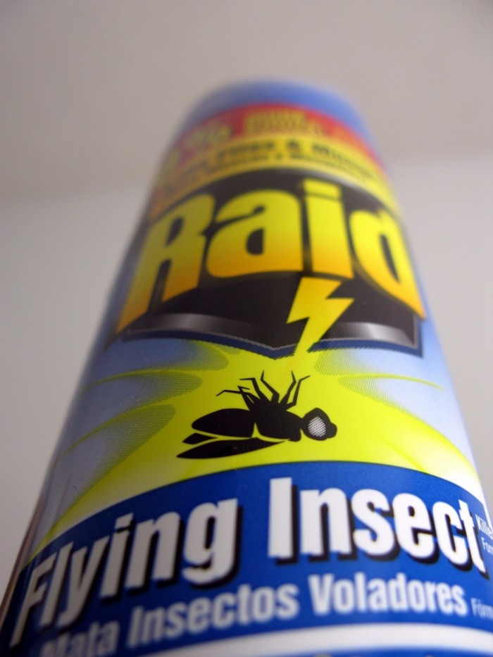 9. Bug spray