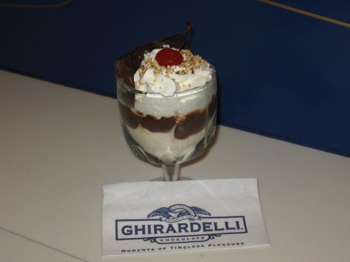 5. Ed Berner develops the ice cream sundae (1881)