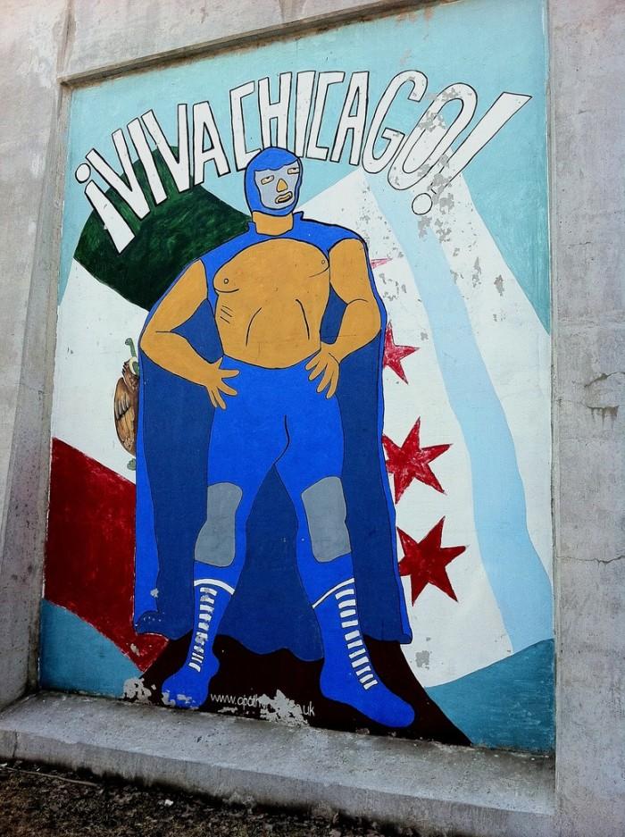 Lucha libre meets Chicago