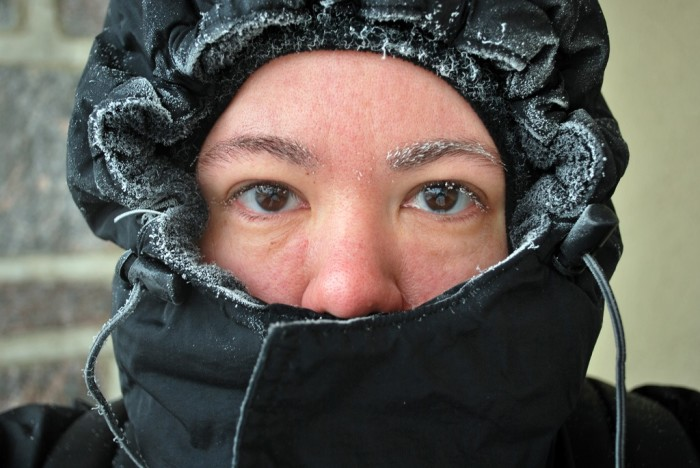 1. We deal with subzero temperatures. All the time.