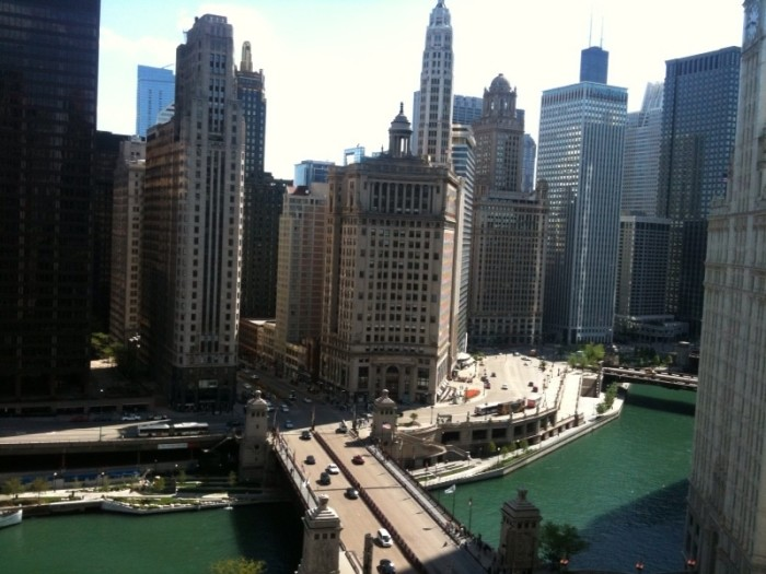 2. The first skyscraper...in the WORLD...was built in Chicago (1885)