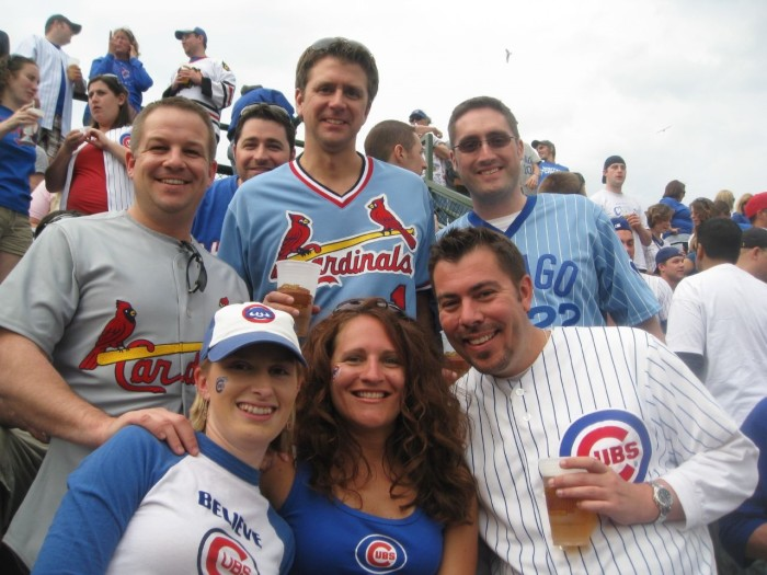 10. We know the true state battle is Cubs vs. Cardinals