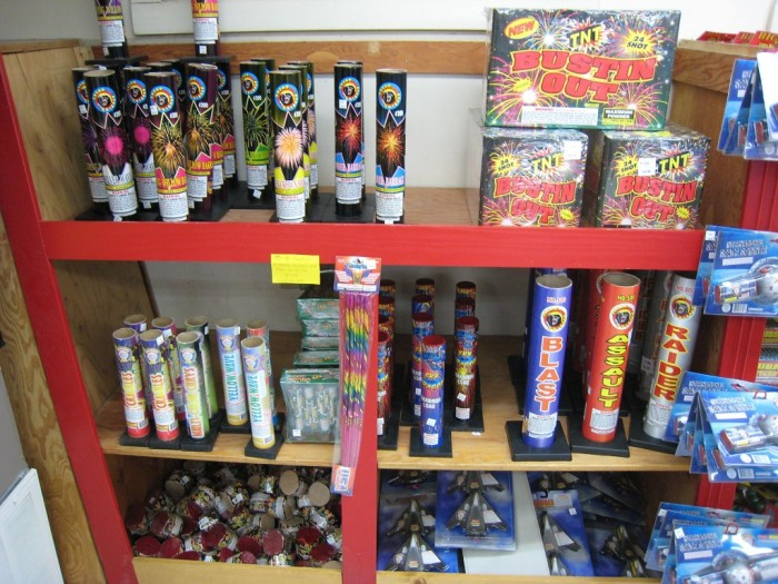 10. Trips to Indiana to buy fireworks