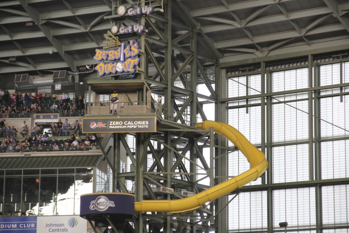 3. Miller Park--not exactly a playground, but this is pretty freaking awesome