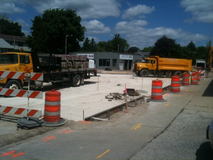 3. Road construction