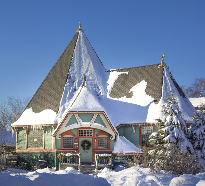 3. This odd house in Superior